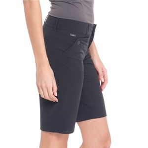 LOLE Stretch Wicking UPF 50 Bermuda Shorts Black